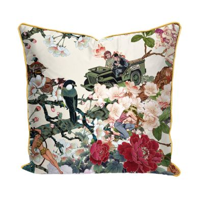 Save Empress wu' printed Satin Cushion Save Empress wu' printed Satin Cushion