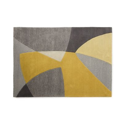 Scatter Yellow Wool Rug Scatter Yellow Wool Rug