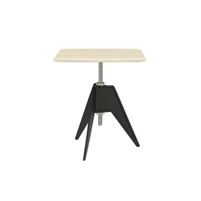 Screw Square Cafe Table Natural Birch