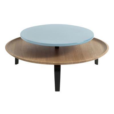 Secreto Coffee Table Black, Blue, High