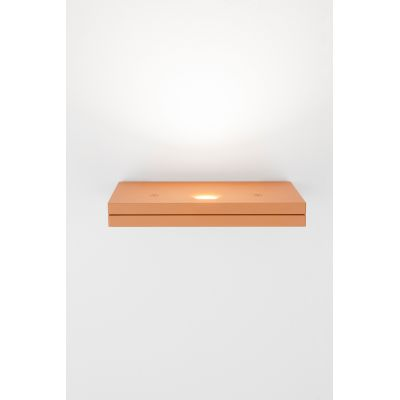 Segno Maxi Retto Wall Light 123 Pearl Grey