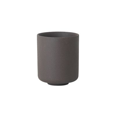 Sekki Cup - Set of 18 Charcoal, Large
