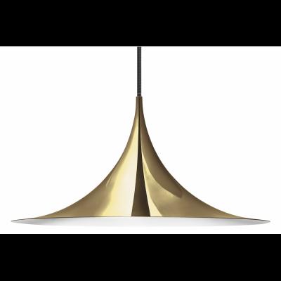 Semi Pendant Light Gubi Metal Brass, Medium