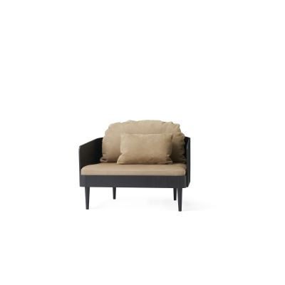 Septembre Armchair Black Ash/Lava
