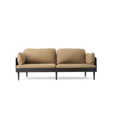 Septembre Sofa Black Ash/Lava