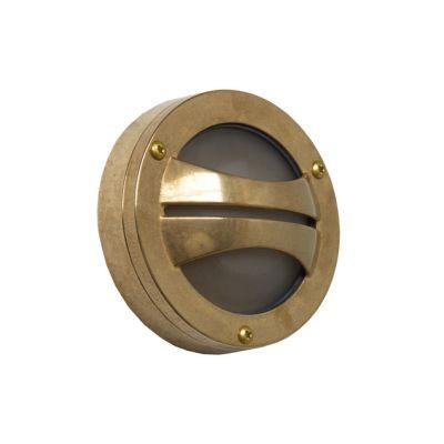 Seri Semi-Flush Wall Light Satin Brass