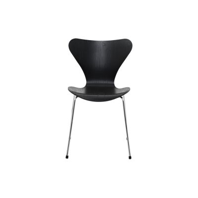 Series 7 Stackable Chair Coloured Ash Black