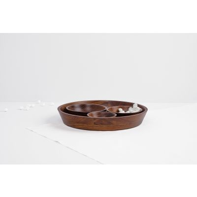 Seva Serving Bowls and Platter Set