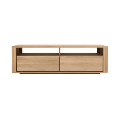 Shadow TV Cupboard Oak, 140 x 46 x 42 cm
