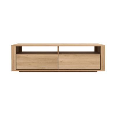Shadow TV Cupboard Oak, 140 x 46 x 42 cm
