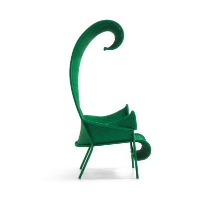 Shadowy Armchair Multigreen