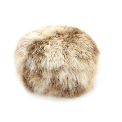 Sheepskin Baa Pouffe in Rare Breed