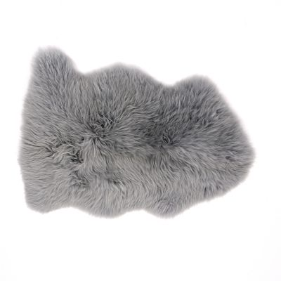Sheepskin Rug in Silver