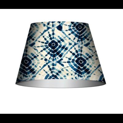 Shibori Swirls Cone Table/Floor Shade