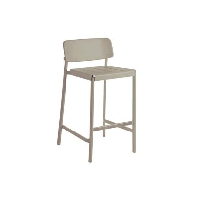 Shine Barstool- Set of 2 Matt White 23