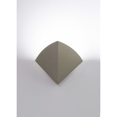 Ship LED Wall Light 115R Fine Textured Sand Grey