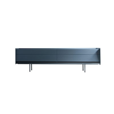 Sideboard  180, Blackolive with Doors & Drawers