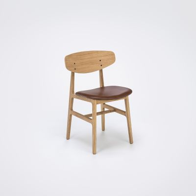 Siko Dining Chair Cognac, Oiled Oak