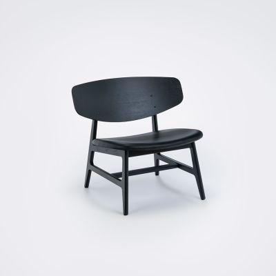 Siko Lounge Chair Oiled Oak, Cognac