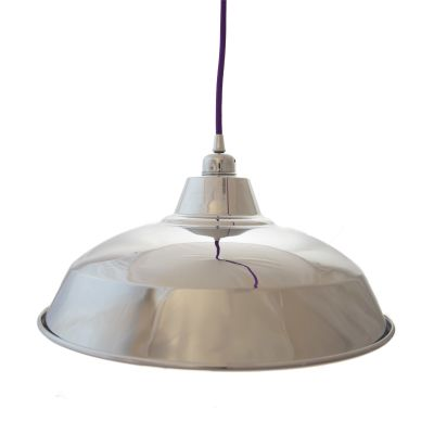 Silver Reflective Industrial Lamp Shade Silver Reflective Industrial Lamp Shade