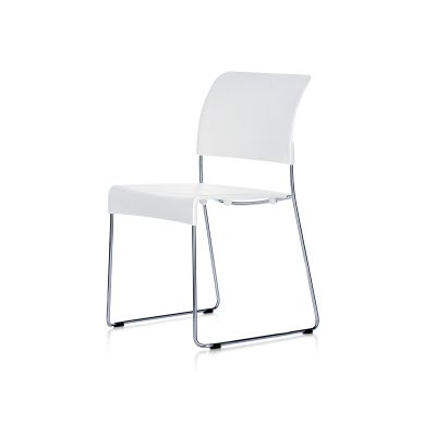 SIM Chair 05 felt glides for hard floor, with linking connectors, 40 chocolate