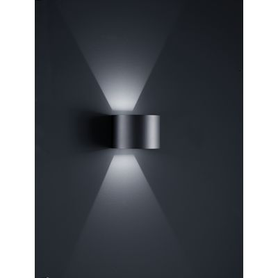 Siri 44 - R Wall Light Black Matt