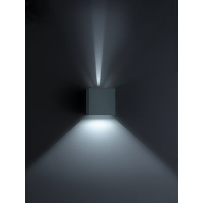 Siri 44 Wall Light Black Matt
