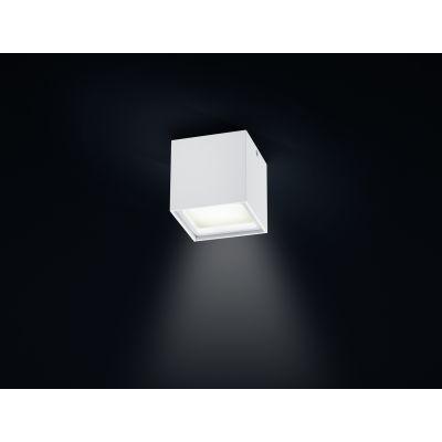Siri LED Ceiling Light Satinised diffuser, White Matt
