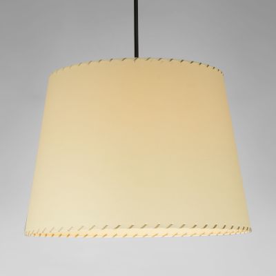 Sistema Sisisi GT1 Pendant Light Satin nickel, Simple, Stitched beiged parchment
