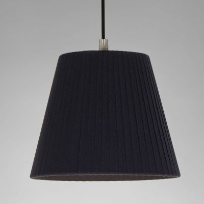Sistema Sisisi PT1 Pendant Light Satin nickel, Stitched beiged parchment