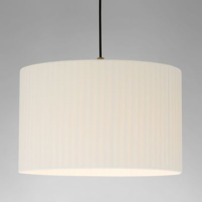 Sistema Sisisi PT2 Pendant Light Satin nickel, Stitched beiged parchment