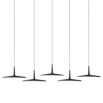 Skan Pendant Light - 5 LEDs Matt graphite grey