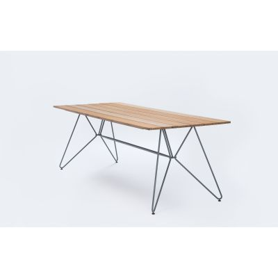 Sketch Dining Table Bamboo Lamellas, 220cm