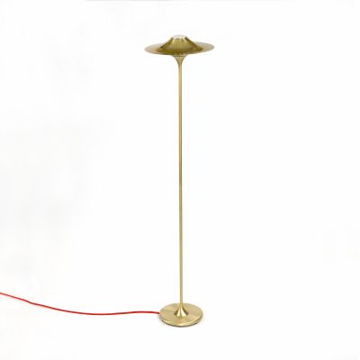 Skew Floor Lamp Euro Plug and Black Wire