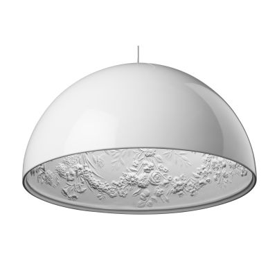 Skygarden Pendant Light S2, Glossy White, Eco