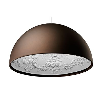 Skygarden Pendant Light S1, Small, Matt Rusty Brown, Halogen
