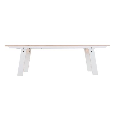 Slim 01 Mid Bench Snow White