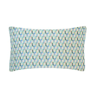 Small Braids Printed Cushion