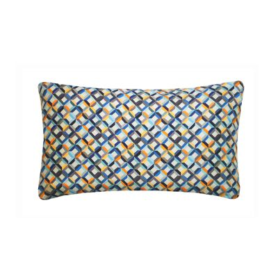 Small Chevron Printed Rectangular Cushion