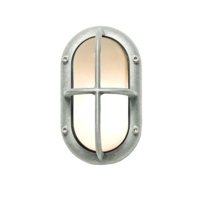 Small Exterior Bulkhead 8123 Weathered Brass
