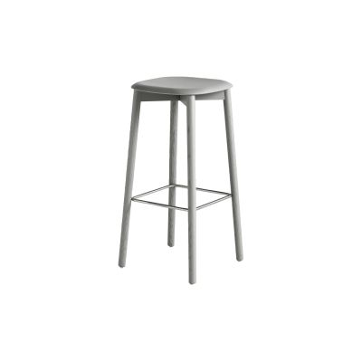 Soft edge 32 stool High, Soft Grey, Standard Glider