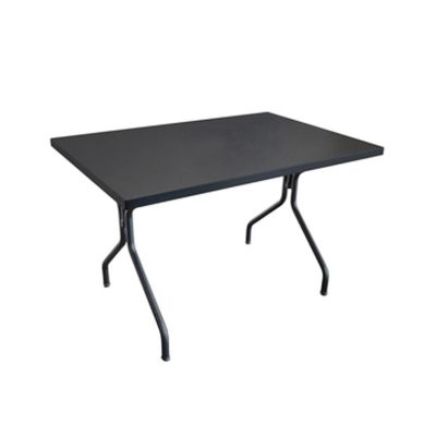Solid Rectangular Dining Table Aluminium 20