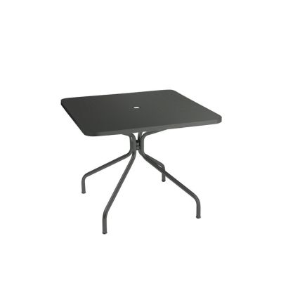 Solid Square Dining Table Aluminium 20