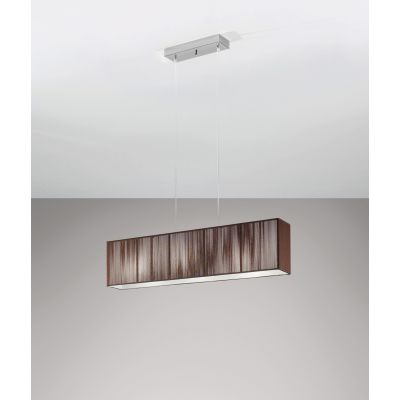 SP Claviu Pendant Light 100, Tobacco, Chrome, E27