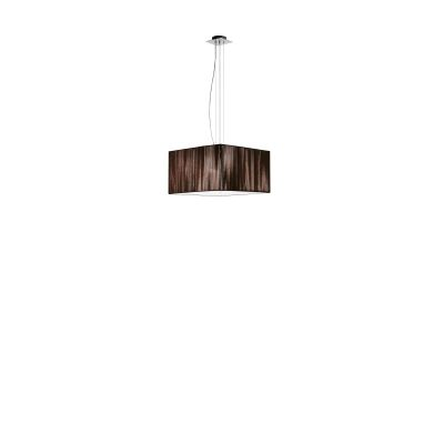 SP Clavius Pendant Light 40 x 40, White, Chrome