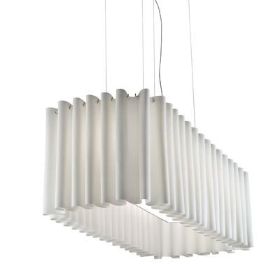 SP SKR 140 Pendant Light Light Green, No Black Net