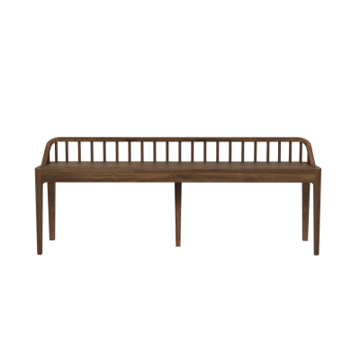 Spindle Bench Walnut