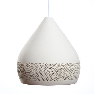 SpongeOh! Pendant Light White, 36 cm
