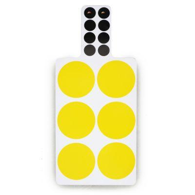 Spots Cutting Board  Yellow
