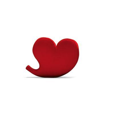 Spring Soft Heart Armchair A1639 - Tonus 4 100 white